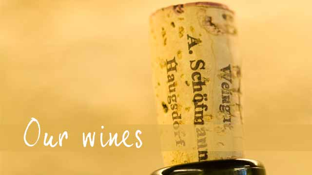 Our wines - Schöfmann Family Winery